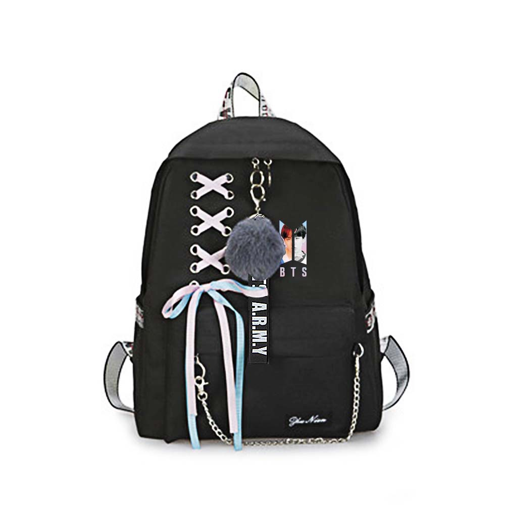 New Bts Bangtan Boys Love Yourself Answer Jungkook Jimin Same Students Cool Shopping Travel Bag Backpack Harajuku Canvas Bag Luggage & Bags