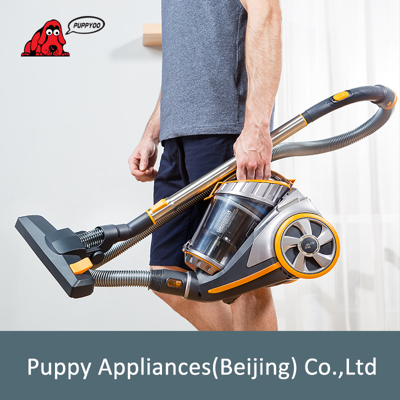 PUPPYOO Home Canister Vacuum Cleaner Large Suction Capacity Powerful Aspirator Multifunctional Cleaning Appliances WP9005B in Vacuum Cleaners from Home Appliances