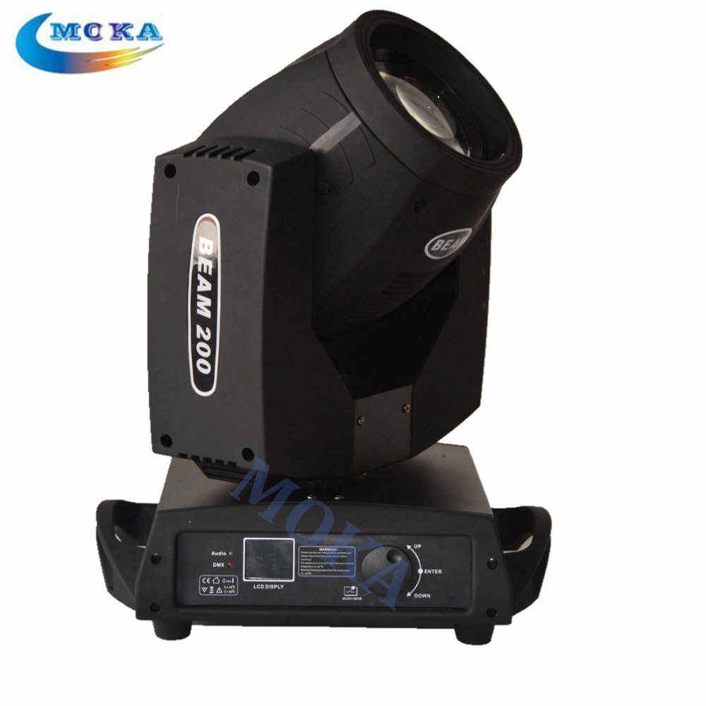 2Pcs/Lot Sharpy Beam 200w Moving Head Light 5r Spot Beam Light Stage