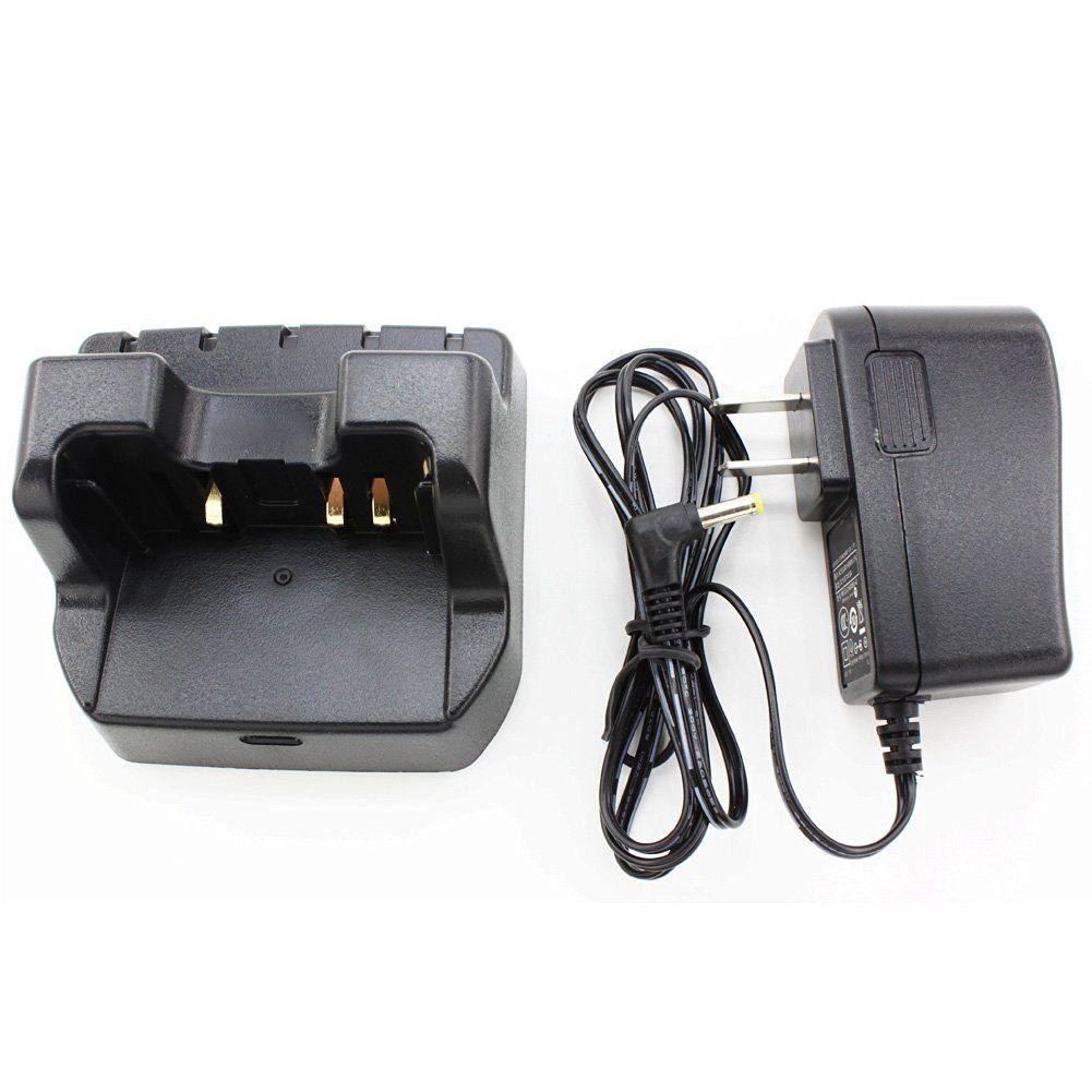 Desktop Charger For Yaesu Radio VX-8R VX-8E VX-8DR FT-1DR FT-2DR Radio FNB-101Li