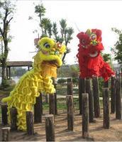 Лев Танцы китайский лев Танцевальный костюм Фошань шерсть