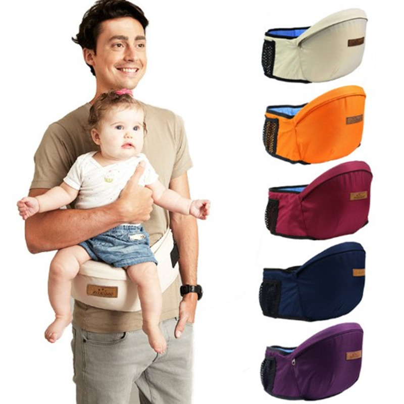 New Design Baby Carrier Waist Stool Walkers Baby Sling Hold Waist Belt Backpack Hipseat Belt Kids Infant Hip Seat