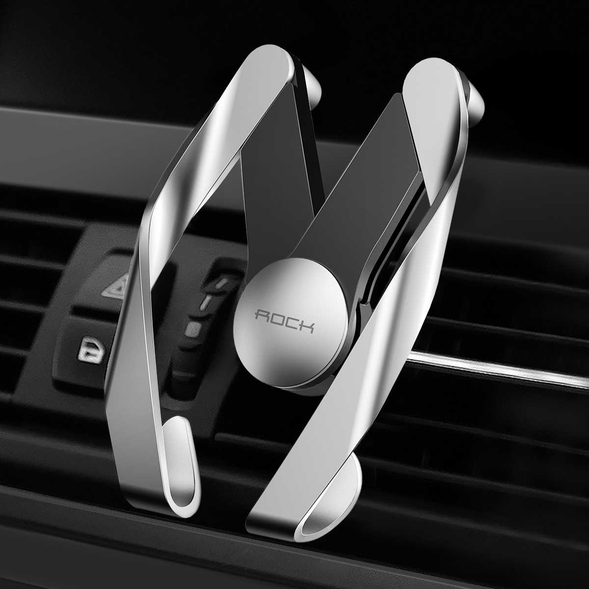 hight resolution of rock universal autobot mobile vent phone car holder for iphone samsung car abs material air outlet