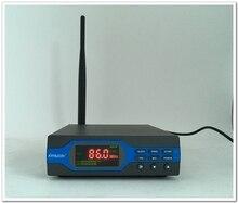 FU-X01CK 1 W Transmisor FM + fuente de alimentación + Antena Paquete (Tarjeta de 8G TF + Batería + Bluetooth)