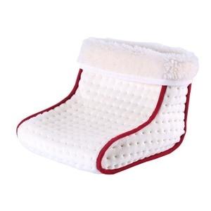 Image 3 - Podgrzewany typ wtyczki elektryczny ciepły ogrzewacz do stóp zmywalne ustawienia sterowania ciepłem cieplejsza poduszka termiczny ogrzewacz do stóp masaż