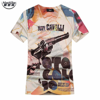 The Latest 2017 Summer Style 3D T Shirt Men Arrival Hip Hop Street Style Double Side