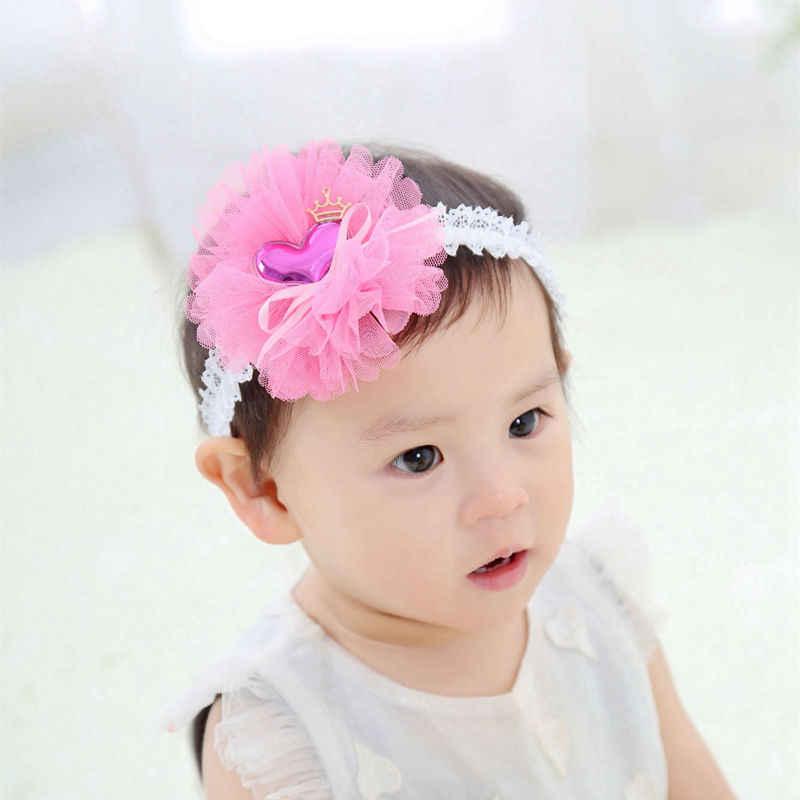 vintage coral toddler headbands coral flower girl headbands Ivory and coral headbands coral and gold headbands baby girl headbands