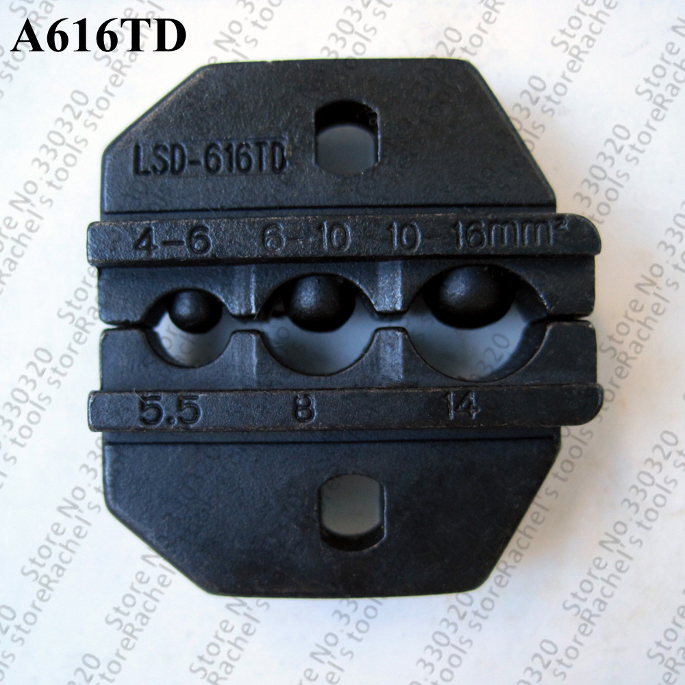 A616td Crimp Die Sets Crimping Jaws For Non-insulated Cable Lugs Terminals
