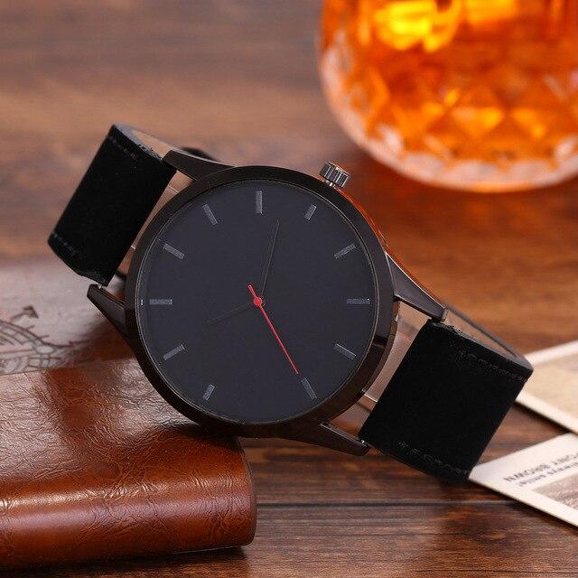 Фото часы мужские наручные с кожаным ремешком брендовые роскошные