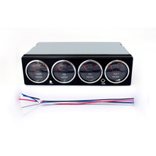 Led Display Muziek Spectrum Analyzer Auto Audio Auto Spectrum Analyzer Temperatuur Voltage Audio Display Level Meter