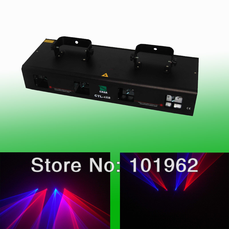 Model Hot Sell High Quality 800mw DMX Red+Blue Color Laser Light Projector show hot sell high quality cw3000 water chiller cooling laser tube for laser machine
