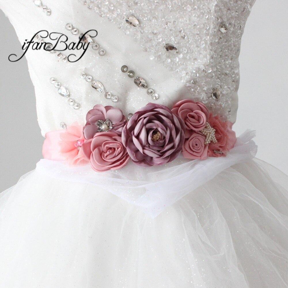 women belt flower sash belt (5)