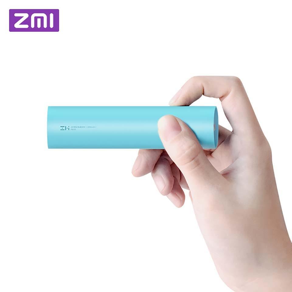 Original Xiaomi ZMI Mini Power Bank 3000mAh Rechargeable 18650 external battery Mini Powerbank portable charging for phone MINI
