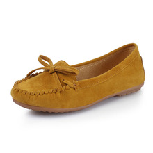 купить COZULMA Women Breathable Flock Casual Shoes Fashion Butterfly-knot Sneakers Female Slip-on Loafers Shoes Plus Size 35-43 дешево