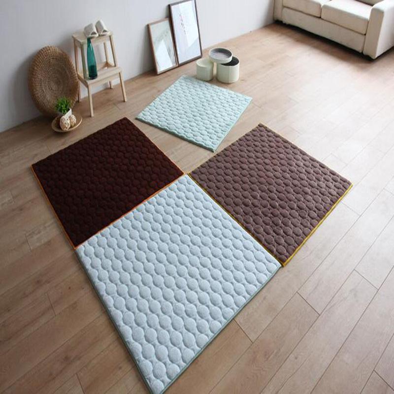 cm tatami japons sper absorbente de rebote lento foam alfombra del dormitorio esteras