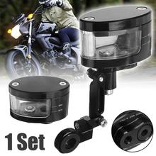 CNC Brake Clutch Master Cylinder Fluid Reservoir Tank Oil Cup Motorcycle motorcycle aluminum cnc front brake clutch tank fluid cup oil cylinder reservoir motorcycle brake oil can