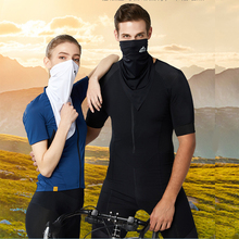 New UV Protection Outdoor Riding Mask Ultra-Thin Breathable Ice Silk Longth Masks Sunscreen Ear Loops Mask For Women Men