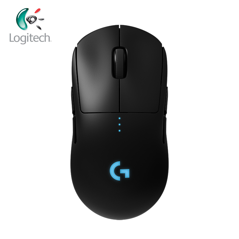 Logitech G PRO Wireless Gaming Mouse RGB Dual Mode LIGHTSPEED Laser Mouse With HERO 16K DPI For All Gamer POWERPLAY Compatible