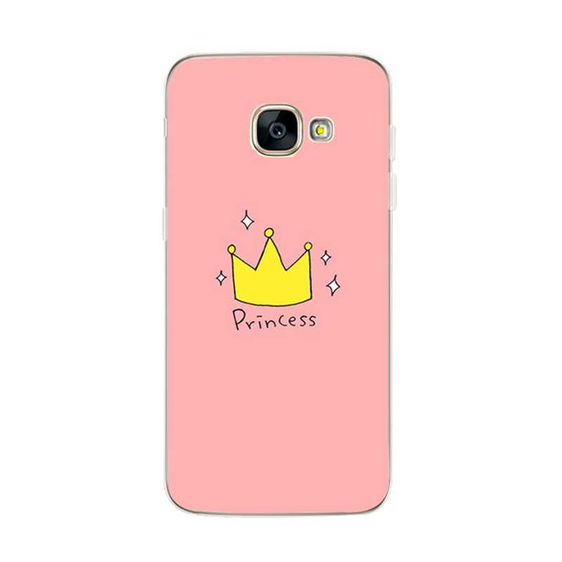 Minnie untuk Samsung S9 Case Silicon Cover UNTUK Samsung A5 A3 2017 A8 Plus 2018 S8Plus S9Plus S9 PLUS case Cover