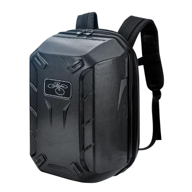Traveling Waterproof Backpack Shoulder Bag Hard Shell Case For DJI Phantom 3Color:Carbon Fibre
