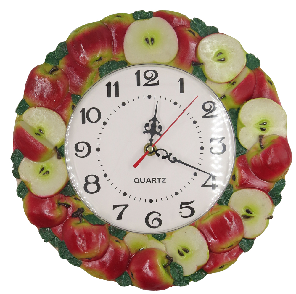 Buy Apple Wall Clock And Get Free Shipping On Aliexpress