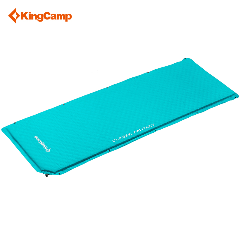 все цены на KingCamp Self-Inflating Camping Pad Splicing Double-side Classic Portable Moisture-proof Beach Mat for Camping Outdoor Backpack онлайн