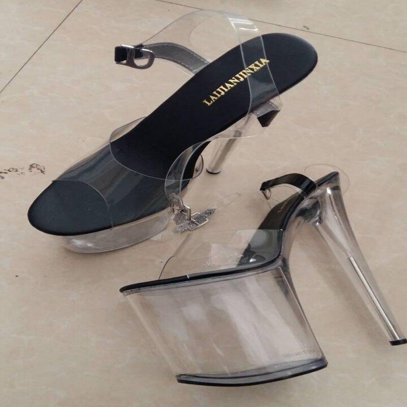 Du Talons B D'argent E083 En A Talon À 8 e051 Cm Hauts Mariée Laijianjinxia Plate forme Chaussures Sandales De Pouce Blanc 20 Cristal Haute Parti e083 Sexy U0zP4q