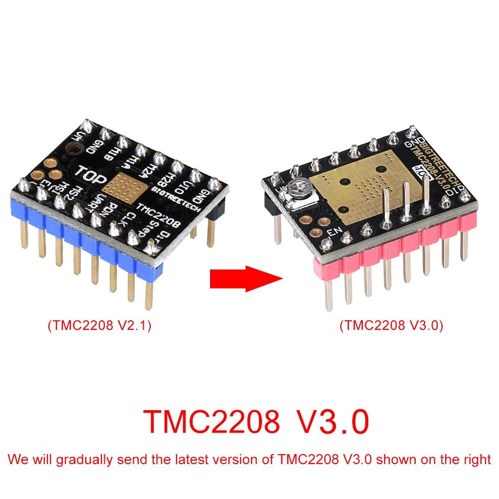 US $3 4 5% OFF|BIQU BIGTREETECH TMC2208 TMC2130 MKS Stepper Motor StepStick  Mute Driver for MKS Gen 2 0 SKR V1 3/V1 1 3d printer control board-in 3D