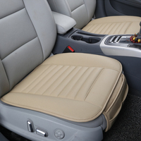 Automobiles Seat Covers Car Styling Universal PU Leather Car Seat Cushion Anti Slip Car Interior Accessories