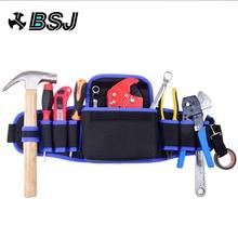 Electricians Adjustable Waist Pocket Belt Tool Bag Pouch Hammers Pliers Screwdriver Holder Storage Hand Repair Tool Organizer цена и фото