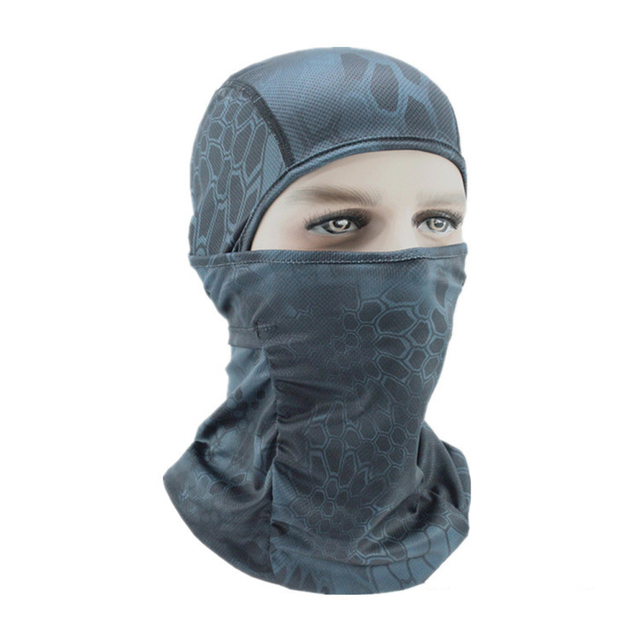 Summer Breathable Motorcycle Face Mask Thermal Synthetic Silk Ultra Thin Bicycle Bike Ski Face Mask Balaclava Hat Headwear 2