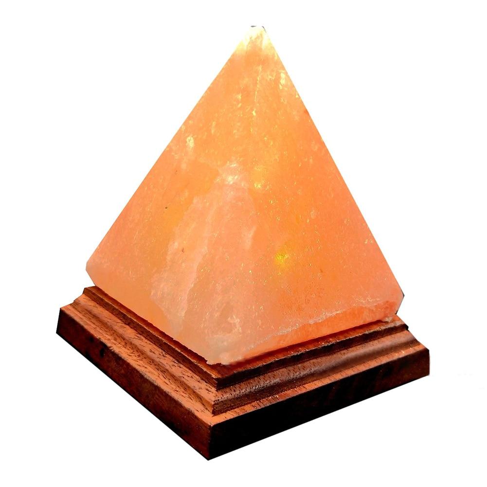 USB Charging Ionic Crystal Salt Color Changing Lamp Himalayan Led Natural Rock Air Purifier Night LightLED Night Lights   -