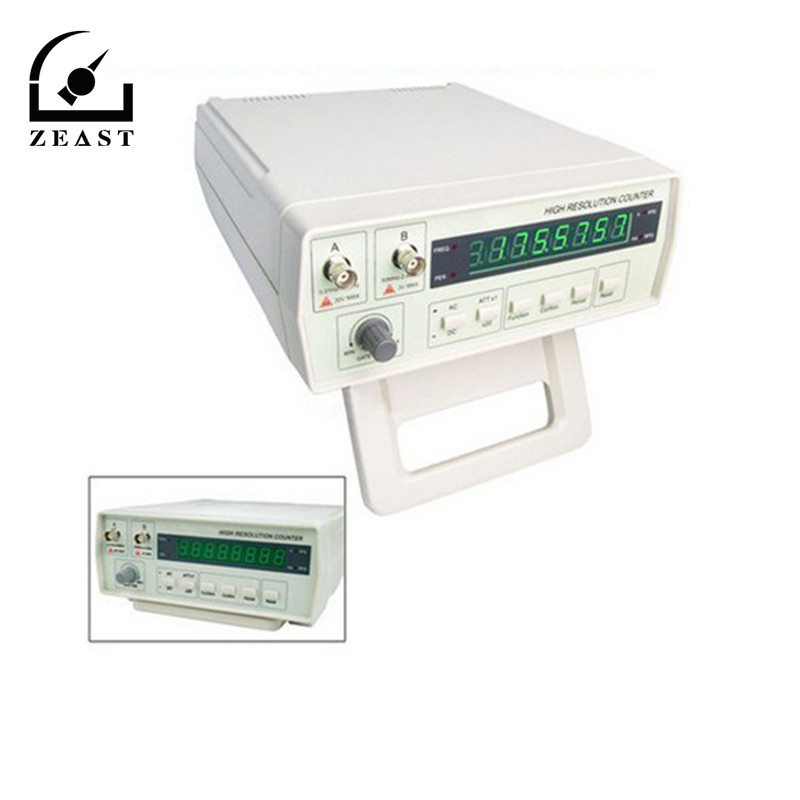 VC3165 Digital Frequency CounterTester 0.01Hz 2.4GHz with Period Measuring 0.5ns 10s 110 220V Controlled Temperature