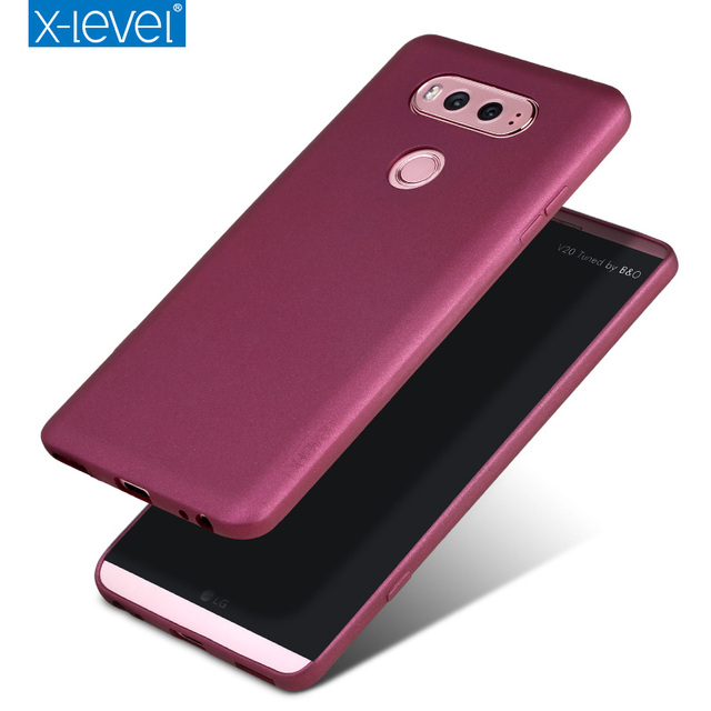 best website 1b2a4 0d0c8 US $8.99 10% OFF|X Level Guardian Ultra thin Soft Matte TPU Case for LG V20  Scrub Back Cover for LG V 20 V20 Frosted Silicone Cases Capa Fundas-in ...