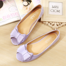 цена на Women Flats New Style Pointed Toe Patent Leather Summer Shoe Woman Causal Walking Shoes 2019 Nurse Working Shoes Summer YY0036