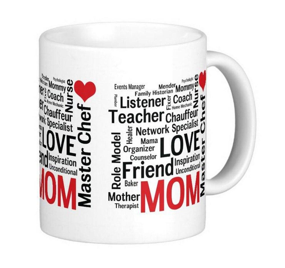 Muttertag Erstaunliche multitalent Super Mama Klassische DIY Kaffee tassen  Tee Tassen Customize Persönliche becher Geschenk Durch LVSURE