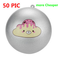 50 PICS Adult Decompression Toys poopsie slime surprise squishy toys skuishy Scented Charm Slow Rising poopsi Collection squichy