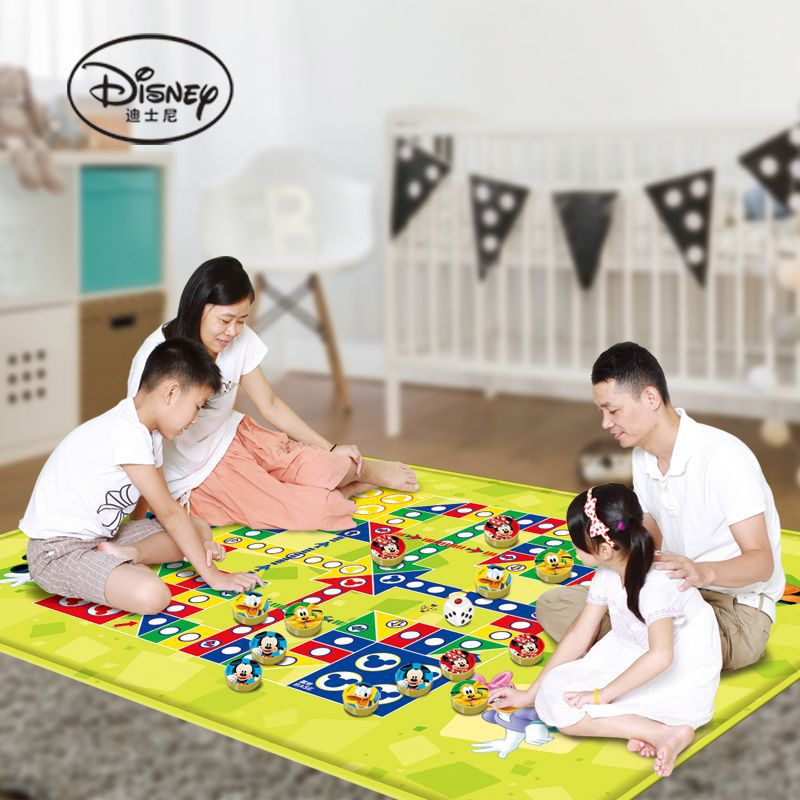 Disney meters outdoor toy odd double-sided flying chess carpet pad baby game pad mat baby crawling mat