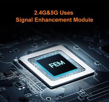 1200Mbps Wireless WiFi Router,1GHz CPU,1WAN+3LAN Gigabit Ports, 4*6 dBi wall-mounted antennas - AC10 2