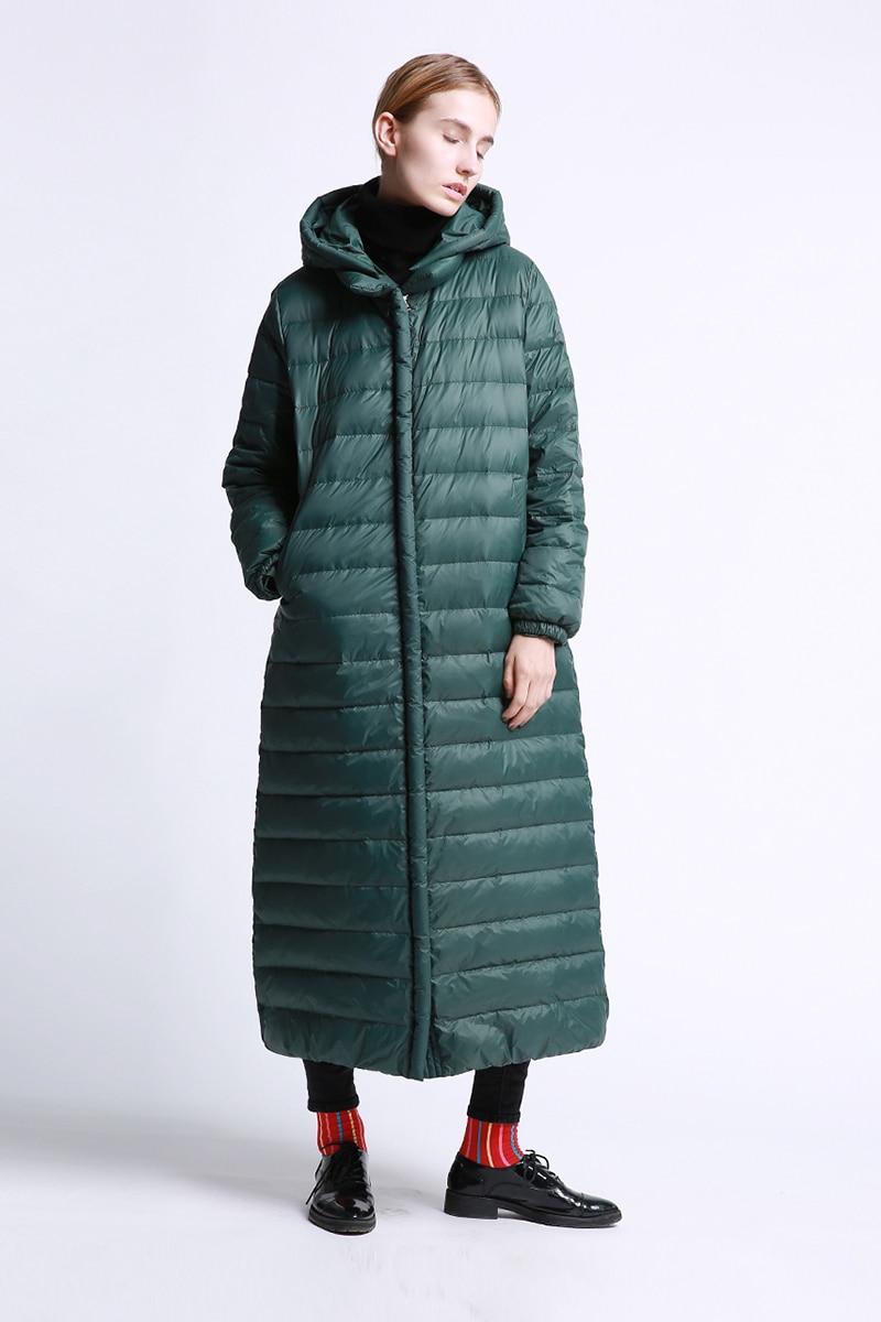 Blanc burgundy Capuche Amovible De Green Nouvelle 2018 Duvet Lâche deep Femmes Manteau D'hiver Classique Noir Veste Canard Bref Blue Arrivée Irinay018 Long navy 47nz6q8Bq