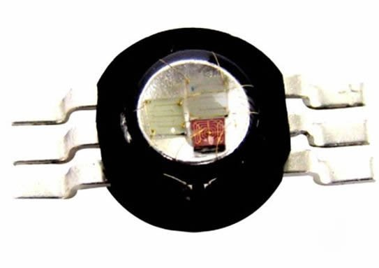 Prolight opto led de alta potência 3 w rgb PM6B 3LFE cor completa