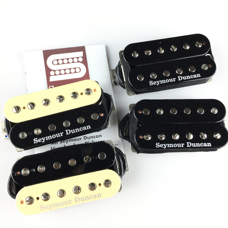 US $79 2 12% OFF|Seymour Duncan SH2n Jazz Model and SH4 JB Model Humbucker  Pickups 4 Conductor Neck/Bridge Set-in Guitar Parts & Accessories from