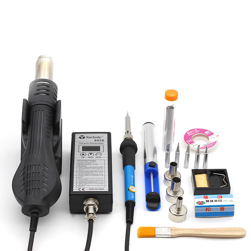 Portable Soldering Heat Gun for Blowing Hot Air While Soldering IC Chip of Mobile and Laptop 10