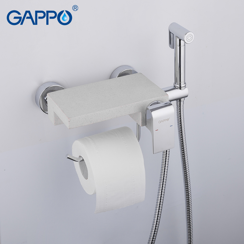 GAPPO bidet faucet brass and quartz bidets toilet faucet multifunctional bidet toilet chrome water taps for bathroom bohemia ivele crystal 1702l 1 30 g sh40a 160