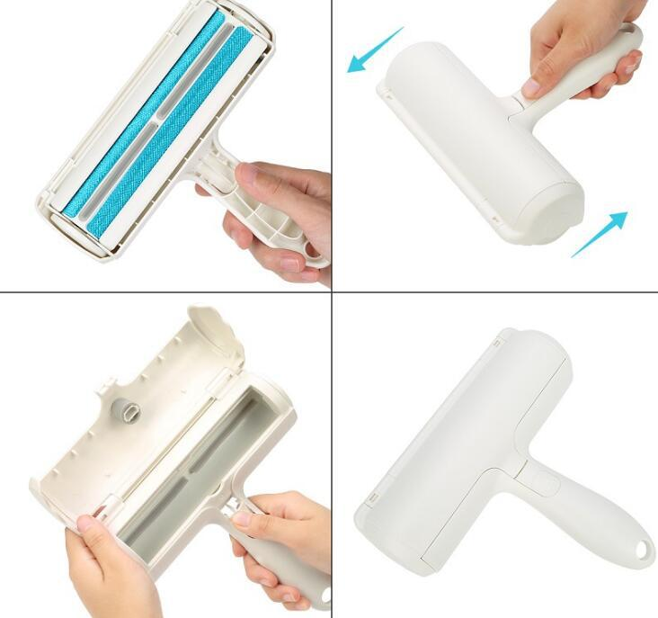 Pet Hair Cleaning Brush Fur Removing Roller Lint Brush Dog Cat Animals Hair Remover for Car Clothing Couch Sofa Carpets