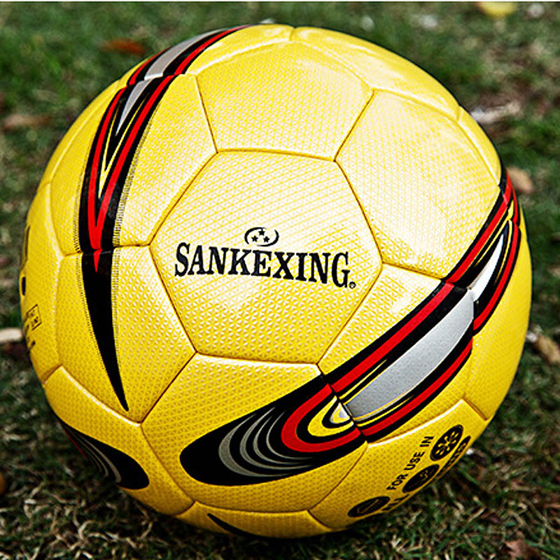 Soccer ball No5 & No4 PU Leather Football Competition Training Professional Football Adhesive Bonding Ball for Kids Toy Gift C4