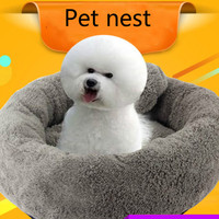 10 Colors New Simple Style Warm Sleeping Bag Pet Doghouse Pet Nest Dog House Medium And Small Animal House Dog House Perros SML