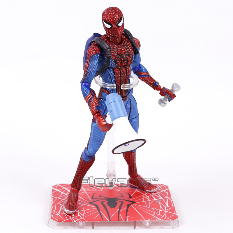 Spider Man Homecoming The Amazing Spiderman 1/6 Scale PVC Action Figure Collectible Model Toy 26cm  funko pop official spider man homecoming spiderman new suit vinyl action figure collectible model toy with original box