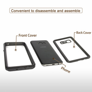 Image 5 - 100% Waterproof Case for Samsung S8 S9 Plus Note 8 9 10 S10 5G Outdoor Water proof Summer Swim Shockproof Cover Full Protection