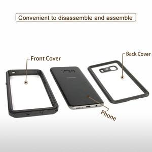 Image 5 - Водонепроницаемый чехол для Samsung S8, S9 Plus, Note 8, 9, 10, S10, защита от воды на открытом воздухе, для лета, для плавания, противоударный чехол с полной защитой
